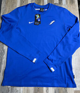 New Nike Dri-Fit Air Force Falcons Long Sleeve Shirt Official ON FIELD $75 NWT