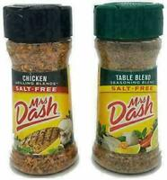 Mrs Dash Salt Free Seasoning Chicken and Table Blend Variety Pack (2.5 oz, 1