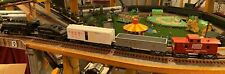 Marx O Gauge 3-Rail Train Set with #490 0-4-0 Engine/tender and 3 Freight Cars