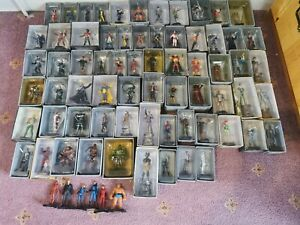 NO RESERVE 70 pcs Eaglemoss marvel figurine collection Bundle Job Lot