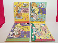 PRECIOUS MOMENTS COLORING ACTIVITY Book for KIDS WORKBOOK LOT of 4 Homeschool