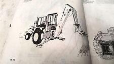 1980 - 1982 JOHN DEERE 9505 9510 9511 BACKHOE Factory Parts Book