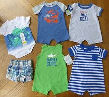 NEW 3 Month Baby Boy Summer clothes LOT Romper $76 rv Outfit shorts Carter's NWT