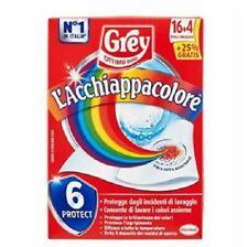3X Grey Acchiappacolore Fogli