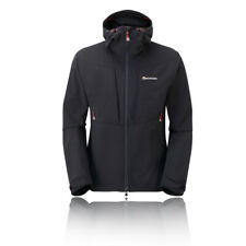 Montane Mens Dyno Stretch Jacket Top - Black Sports Outdoors Full Zip Hooded