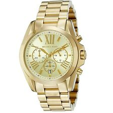 Michael Kors Bradshaw Gold Chronograph Stainless Steel MK5605 Women's Watch