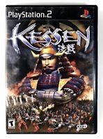 🔥FREE SHIPPING🔥 Kessen (Sony PlayStation 2, 2000) Real Time Strategic Warfare