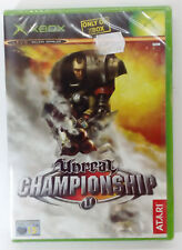 UNREAL CHAMPIONSHIP XBOX EUROPEAN PAL SEALED BRAND NEW