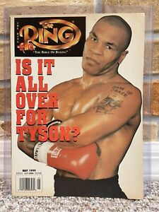 THE RING BOXING VINTAGE MAGAZINE MIKE TYSON May 1999 XLNT