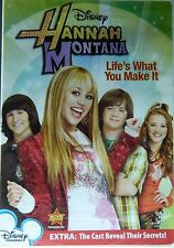 HANNAH MONTANA LIFE's WHAT YOU MAKE IT 4 Episodes Plus Special Features SEALED