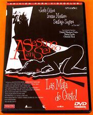 ASESINO EN SERIO - Antonio Urrutia & Santiago Segura - Dvd de alquiler