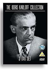 The Boris Karloff Collection RARE 3 DISC DVD