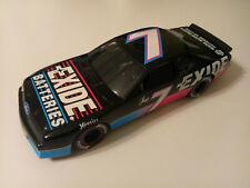 ERTL 1995 GEOFF BODINE #7 FORD THUNDERBIRD EXIDE BATTERIES NASCAR 1:18