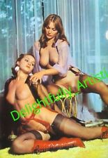 Alice Arno 19960's  VINTAGE Female Semi Nude PINUP ART PHOTO 4X6 PRINT Busty