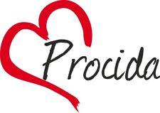 """Adesivo per auto """" PROCIDA """" cuore Sticker ca.9x13 cm taglio contorno …"""
