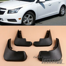 4 Pcs For 09-16 Chevrolet Chevy Cruze Mud Flaps Splash Guards Fender Mudguard