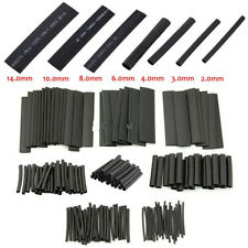 127Pc Set Black Glue Weatherproof Heat Shrink Sleeving Tube Cable Assortment Kit
