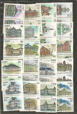 JAPAN 1981-1984 WESTERN ARCHITECTURE COMP. SERIES 10 SETS OF 2 STAMPS EACH X 2
