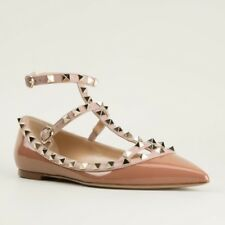 Valentino Rockstud Cage Ballet Flats Size 35.5 RRP $1290