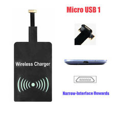 Wireless Universal Charger Receiver Charging Adapter Pad for MICROUSB Android Micro USB 1 a Type (narrow-interface Up)