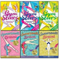 Gym Stars and Somersaults and Dreams Series Collection 6 Books Set Rising Star..
