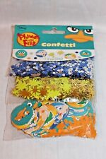 NEW IN PACKAGE PHINEAS AND FERB  CONFETTIS PARTY SUPPLIES