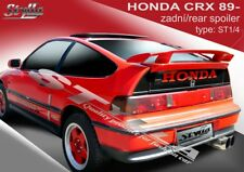 SPOILER REAR BOOT HONDA CRX 2 WING ACCESSORIES