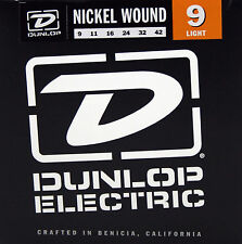 Dunlop Electric Guitar Strings #9 Nickel Wound Light (9-42)  1Set
