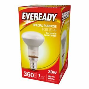 Eveready Halogen 30w R39 Reflector Spot Light SES Dimmable Lava Lamp Bulb