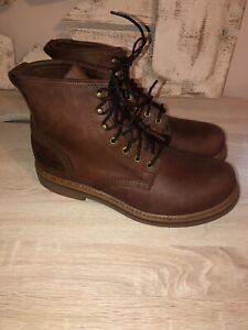 Men's NEW Field N Forest brown vibram sole lace up boots classic 8.5 EE Work