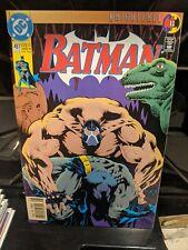 DC COMICS FAMOUS COVERS BATMAN BACK BREAKER KNIGHTFALL BANE #497 POSTER PIN UP