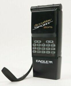 Vintage Eagle AccuNav Sport GPS Receiver Handheld Portable Black For Parts
