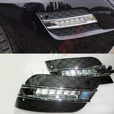 1set LED Fog/Driving Light Daytime Running Lamps DRL For 2009-11 Benz W164 ML350