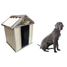 VEBO Outdoor Metal Dog Kennel House (Large 128cm)