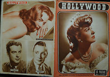 """ HOLLYWOOD N° 18 /03.MAG.1947 Settim.le Cinematografico :JOAN FONTAINE -"