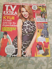 EXTRA MAGAZINE 2014 KYLIE MINOGUE VERITY RUSHWORTH LILAH PARSONS MCGUINNESS