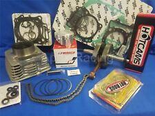 HotRods 400EX/X (460cc) 1999-2014 Top + Bottom End Rebuild Kit Piston Crankshaft