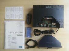 Auerswald Compact 5020 VoIP, gebraucht, mit 2-ISDN-Modul