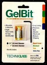 Techniglass 3/4 Inch Fine Grit Gelbit stained glass supplies grinder bit