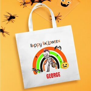 Halloween Personalised Trick or Treat Goody-Party Bag - Design 3