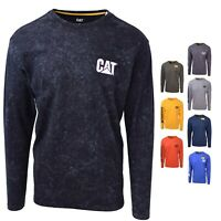 Caterpillar Men's Trademark Banner L/S T-Shirt S01