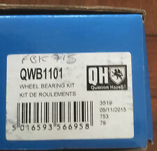 FIAT BRAVA, BRAVO, 1995-2013, MULTIPLA 1999-2011  REAR WHEEL BEARING QWB1101