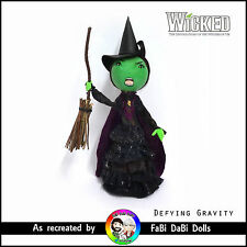 Defying Gravity Elphaba - WICKED the musical FaBi DaBi Doll