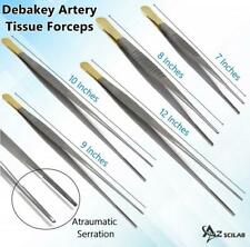Debakey Atraumatic Artery Forceps Clamps Ent Surgical Instruments