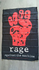 Rage against the Machine 1994 rare rock hardrock music flag vintage fahne