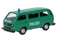 SCHUCO 26069 - 1/87 VOLKSWAGEN / VW T3 BUS - POLIZEI - NEU