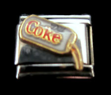 Coca-Cola Italian Charm Pouring Diet Coke Can Stainless Steel Casa D'Oro