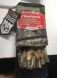 New HUNTWORTH Catapult Midweight Glove/Mitten Size L/XL Water Repellent Non Slip