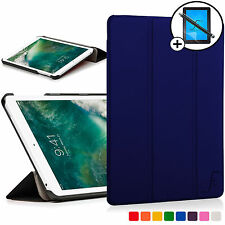 Azul Marino Plegable Funda Smart Apple iPad 9.7 2017 A1822 Scrn Prot