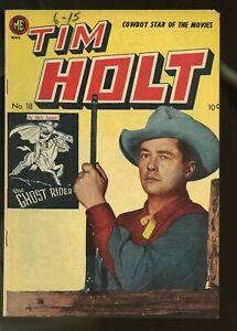 TIM HOLT #18 FINE- 5.5 1950 MAGAZINE ENTERPRISES